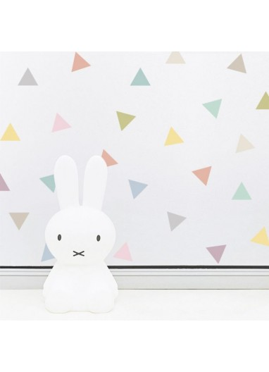Triangle wall stickers...