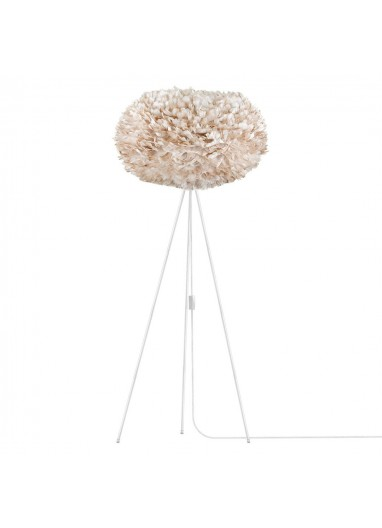 Feather floor lamp brown VITA