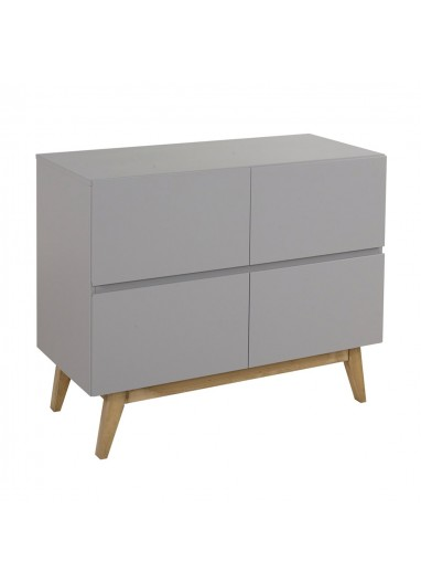 Trendy Chest of Drawers Grey Quax
