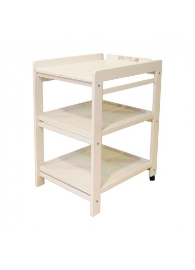 Comfort changing table white quax