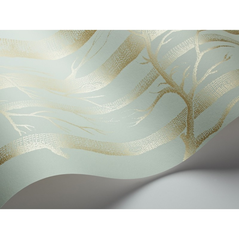 Papel pintado Wood light green Cole and Son