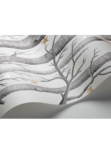 Papel pintado Wood and Stars light white Cole and Son