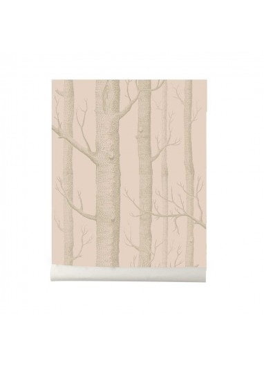 Papel pintado Wood light pink Cole and Son