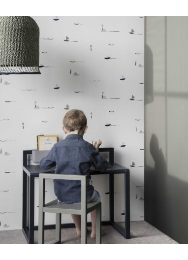 Silla  little architect dark grey Ferm Living