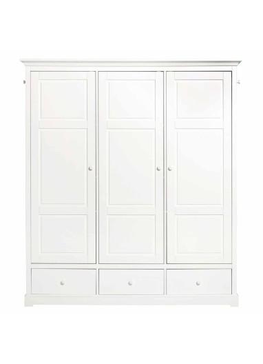 Armario tres puertas blanco Seaside OLIVER FURNITURE