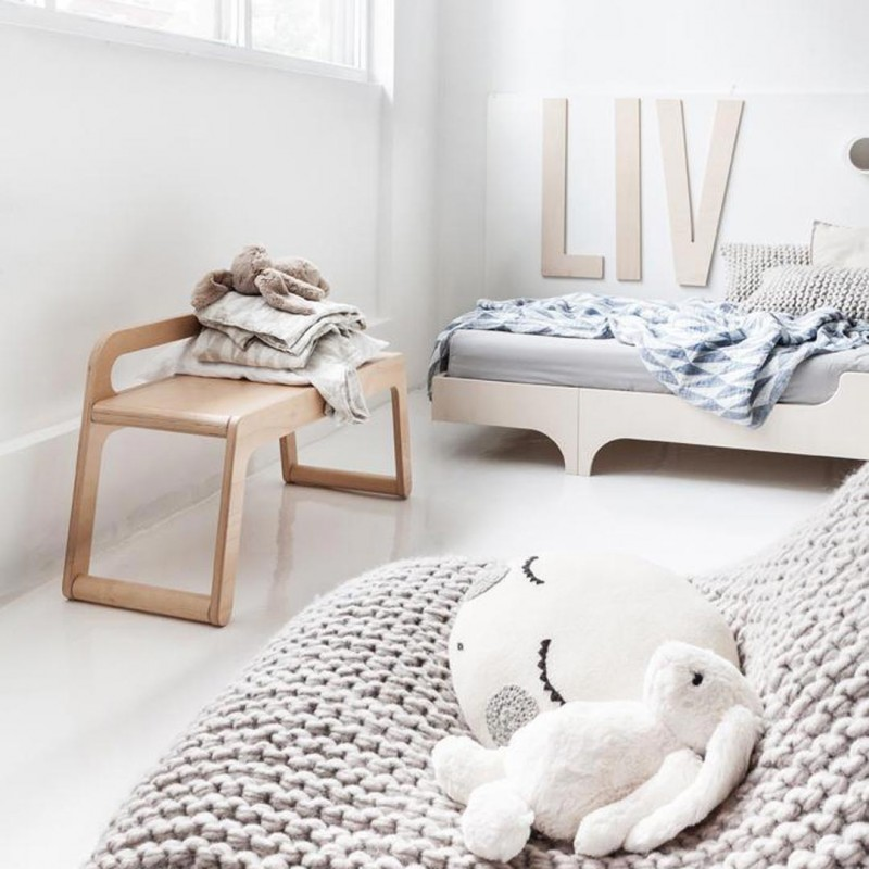 Cama A90 Natural RAFA-Kids
