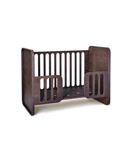 Convertible Crib chocolate Sleeper
