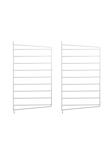 Wall panel white 75x30 string system