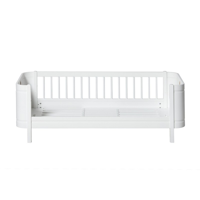 Cuna Wood Mini+ blanca OLIVER FURNITURE