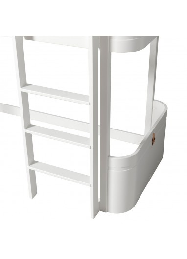 Cama Low Loft Wood Mini+ Blanca Oliver furniture