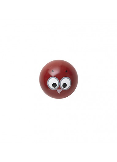 Owl coat hanger red Ferm Living