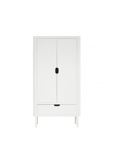 The Sebra Wardrobe double door white