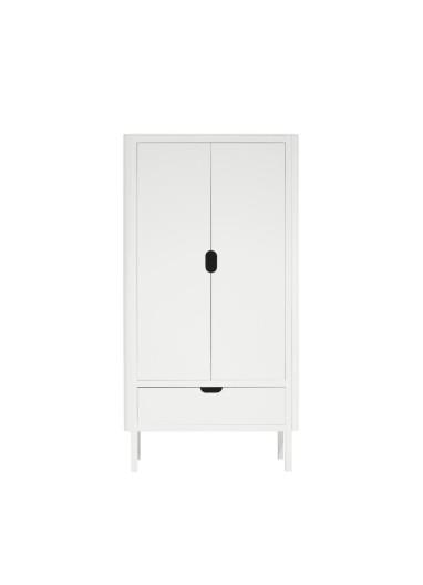 The Sebra Wardrobe double door white
