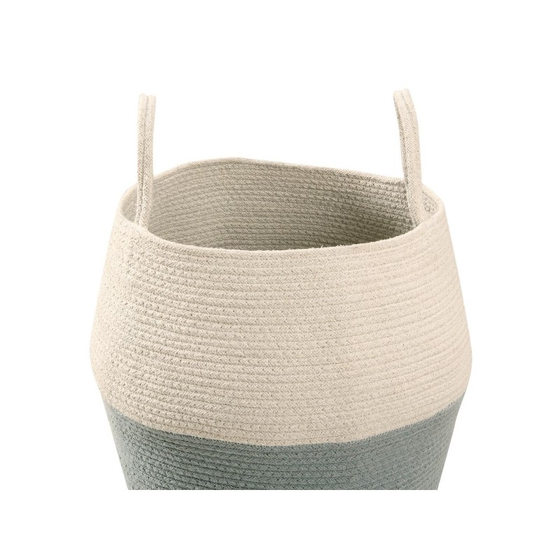 Basket Zoco Natural Vintage Blue Lorena Canals