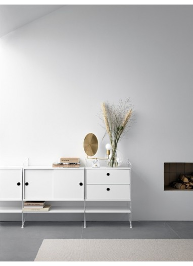 Chest 2 drawers white 58x30cm String a medida online