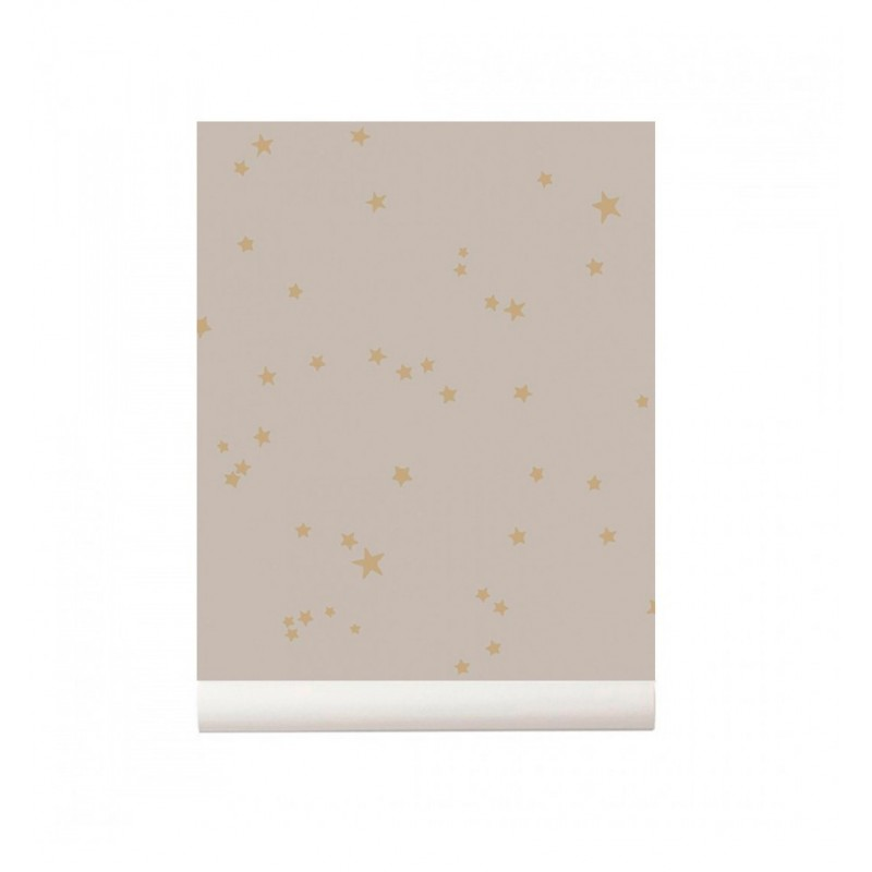 Stars Wallpaper grey Cole and Son