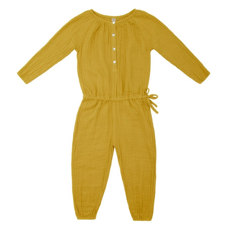 Naia Jumpsuit Sunflower yellow Numero74 3-4 Years