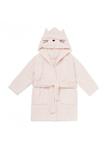 Lily Bathrobe Cat Sweet Rose Liewood