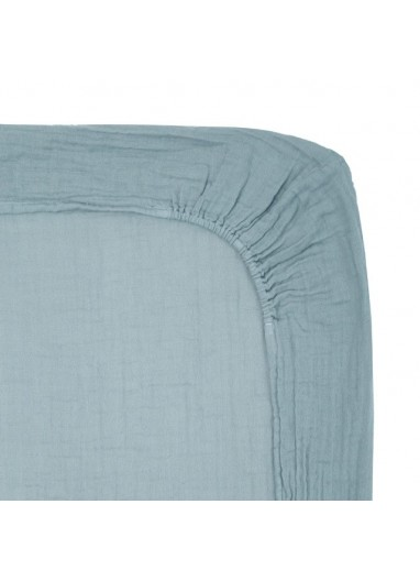 Changing Pad Fitted cover Sweet Blue Numero74