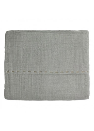 Top Sheet Silver grey 110x170cm Numero74 for cots