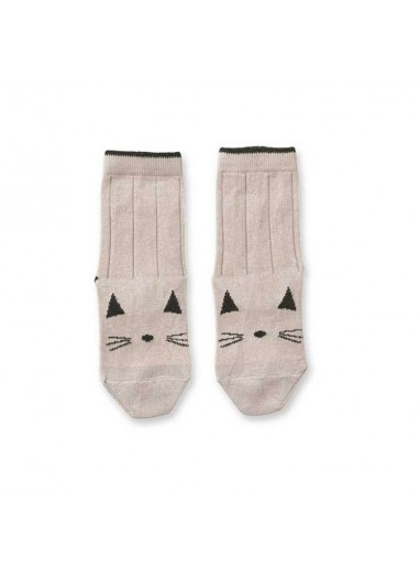 Calcetines Gato rosa Liewood