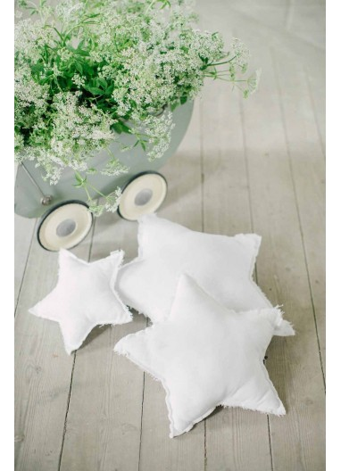 Star Cushion White SMALL Numero74