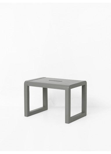 Taburete little architect grey Ferm Living