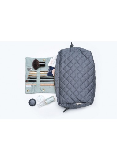 Neceser Quilted Grey Camcam