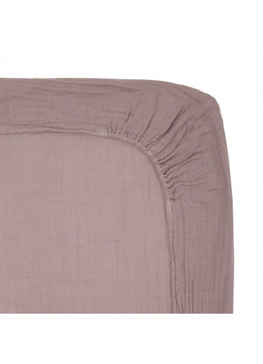 Changing Pad Fitted cover Dusty Pink Numero74