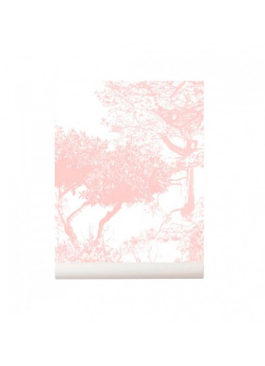 Hua Trees wallpaper Mural Pink Sian Zeng