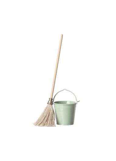 Bucket & Mop Maileg