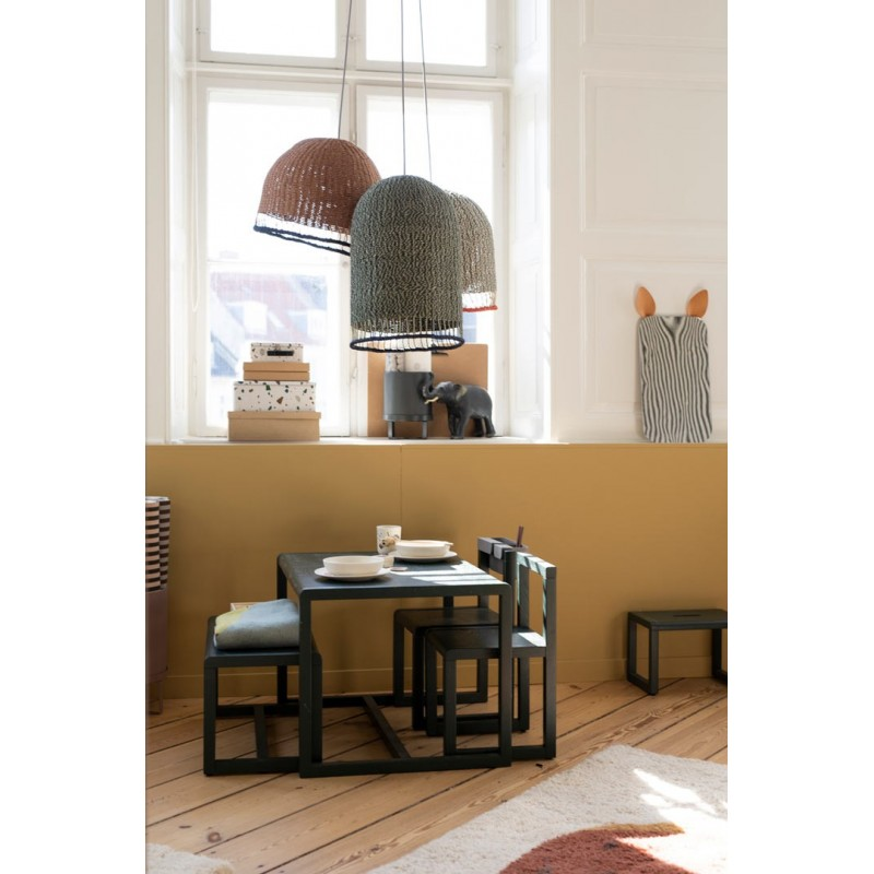 Silla little architect dark grey Ferm Living