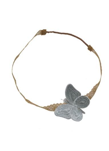 Butterfly Headband Silver Grey Numero 74
