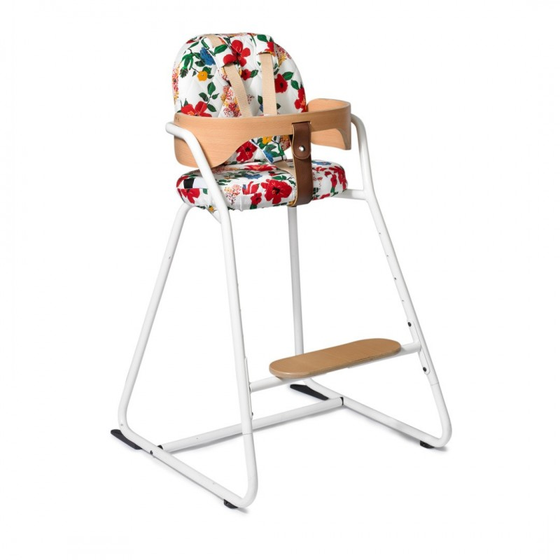 TIBU High Chair White Charlie Crane