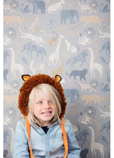 Safari wallpaper ferm living