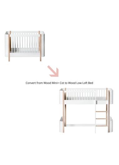 Kit conversión Wood Mini+ a Cama Loft Oliver Furniture