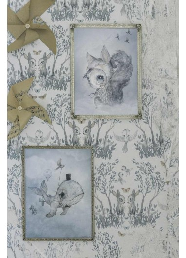 Tiny Toffle / Dear Whalie 2 Pack Posters Mr Mighetto