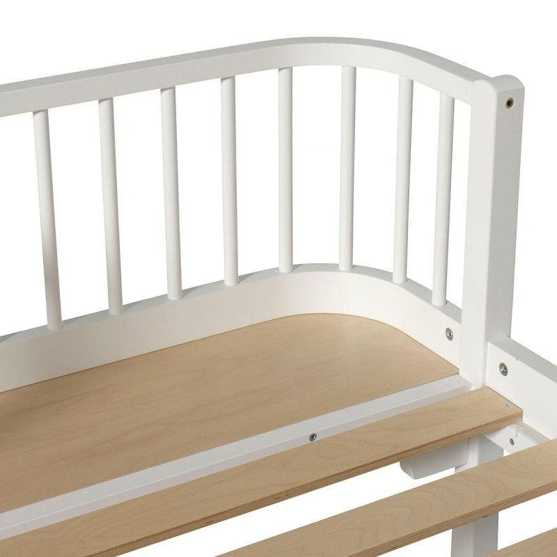 Cama blanca Wood OLIVER FURNITURE