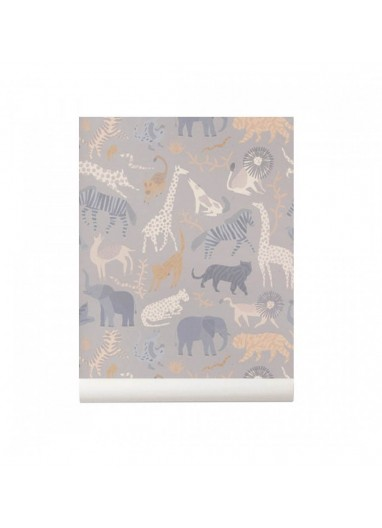 Papel pintado Safari Ferm Living