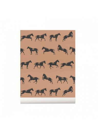 Horse wallpaper ferm living