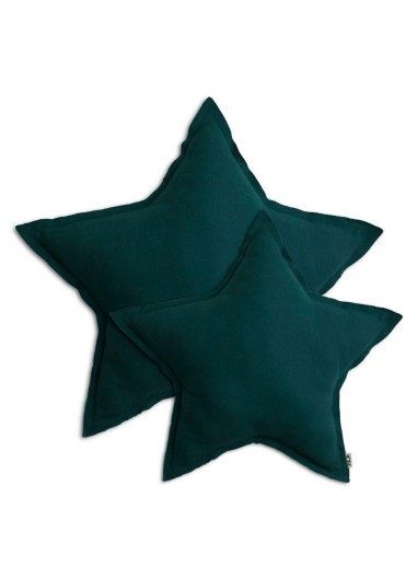 Cojin Estrella Teal Blue MEDIUM Numero 74