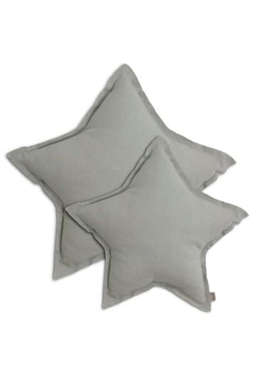 Star Cushion Silver Grey MEDIUM Numero 74