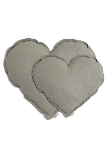 Heart Cushion Grey Numero74