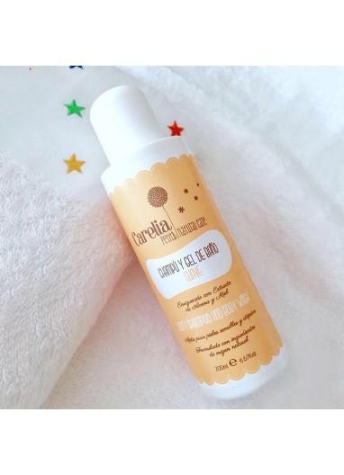Champu-Gel de Baño suave Carelia Petits Natural Care