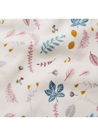 Nursing pillow cover Pressed Leaves Rose Cam Cam Copenhagen