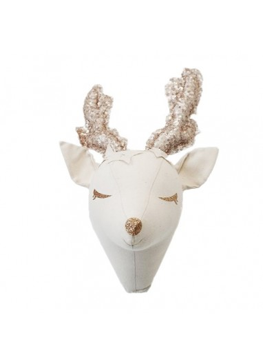 Deer Dreamer Ivory and Beige