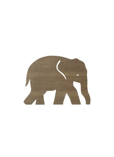 Elephant Lamp Smoked Oak Ferm Living