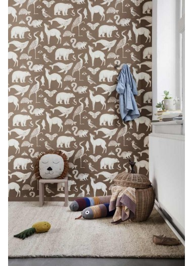 Animals wallpaper Ferm Living