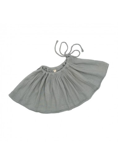 Tutu cotton skirt Siver grey Numero74