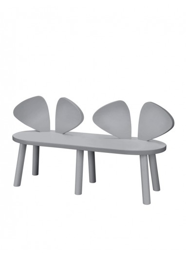 Mouse Bench Grey Nofred